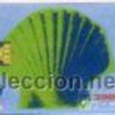Cartes Téléphoniques de collection: ESPAÑA TT TARJETA TELEFONICA XACOBEO 1993 CONCHA 2000 PTAS. Lote 53810523