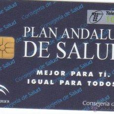Cartes Téléphoniques de collection: ESPAÑA TT TARJETA TELEFONICA PLAN ANDALUZ DE SALUD 1998. Lote 53811816