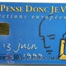 Cartes Téléphoniques de collection: TARJETA TELEFONICA TELECARTE 50 ELECCIONES EUROPEAS 1999 TT. Lote 53861463