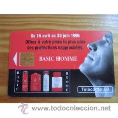 Cartes Téléphoniques de collection: TARJETA TELEFONICA TELECARTE 50 TT COSMETICA BASIC HOMME. Lote 54111305