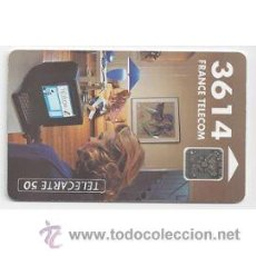 Cartes Téléphoniques de collection: TARJETA TELEFONICA TELECARTE 50 TT TELECOM 3614 FRANCE. Lote 54120189