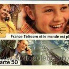 Tarjetas telefónicas de colección: TARJETA TELEFONICA TELECARTE 50 TT TELEFONIA TELECOM. Lote 245530675