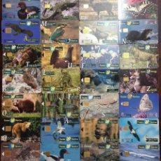 Cartões de telefone de coleção: LOTE 8 TARJETAS TELEFONICAS TT FAUNA IBERICA VER DETALLE. Lote 54190827