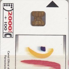 Tarjetas telefónicas de colección: CP-012 TARJETA DE ESPAÑA DE OLIMPIADAS BARCELONA´92 J.M. TRIAS (NUEVA-MINT) ¡¡A PRECIO FACIAL!! . Lote 62113484