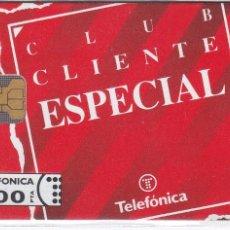 Tarjetas telefónicas de colección: P-008 TARJETA DE ESPAÑA CLIENTE ESPECIAL DE TIRADA 6000 NUEVA. Lote 56157373