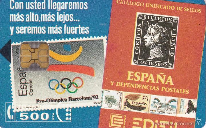 P-010 TARJETA EDIFIL DE TIRADA 2000 NUEVA (SELLO-STAMP) (Coleccionismo - Tarjetas Telefónicas)
