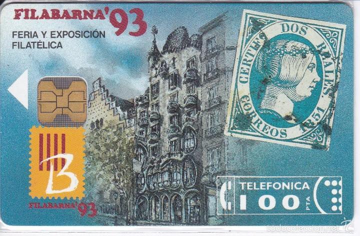 P-011 TARJETA FILABARNA´93 DE TIRADA 2000 (SELLO-STAMP) (Coleccionismo - Tarjetas Telefónicas)