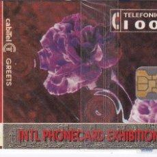 Tarjetas telefónicas de colección: P-014 TARJETA DE ESPAÑA DE I.P.EX.'93 DE TIRADA 3000 NUEVA. Lote 56157427