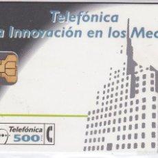 Tarjetas telefónicas de colección: P-017 TARJETA DE ESPAÑA INNOVACION DE TIRADA 2000 NUEVA. Lote 56157447