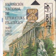 Tarjetas telefónicas de colección: P-021 TARJETA DE ESPAÑA DE EXPO N.L.F. (SELLO-STAMP) NUEVA. Lote 56157472