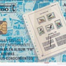 Tarjetas telefónicas de colección: P-025 TARJETA DE ESPAÑA FILATELIA MARTINEZ DE TIRADA 2000 NUEVA (SELLO-STAMP). Lote 56157496