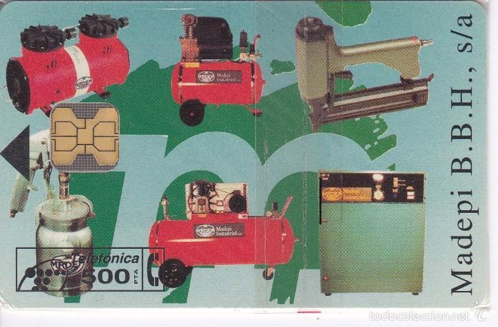 P-028 TARJETA DE MADEPI DE TIRADA 2000 NUEVA CON BLISTER (Coleccionismo - Tarjetas Telefónicas)