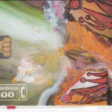 Tarjetas telefónicas de colección: P-029 TARJETA SUEÑO AFRICANO DE TIRADA 2000 NUEVA CON BLISTER. Lote 56278422
