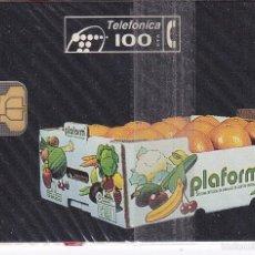 Tarjetas telefónicas de colección: P-045 TARJETA DE ESPAÑA DE PLAFORM DE TIRADA 11600 NUEVA CON BLISTER. Lote 56278587