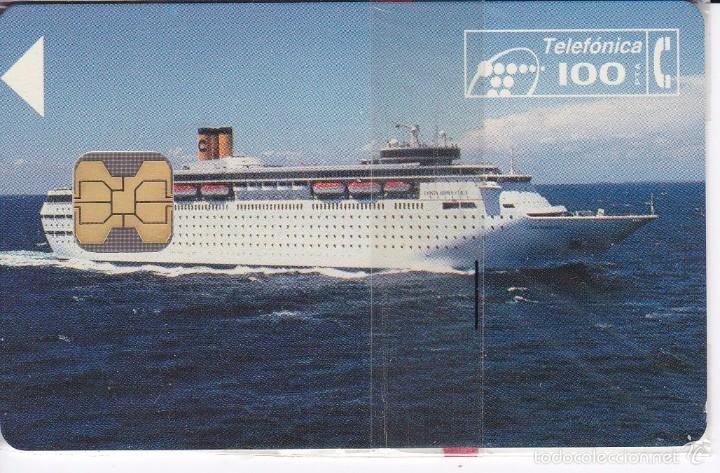 P-047 TARJETA DE ESPAÑA DE COSTA CRUCEROS DE TIRADA 2500 (BARCO-SHIP) NUEVA CON BLISTER (Coleccionismo - Tarjetas Telefónicas)