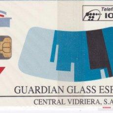 Tarjetas telefónicas de colección: P-050 TARJETA DE ESPAÑA DE GUARDIAN GLASS DE TIRADA 3475 NUEVA CON BLISTER. Lote 56278682