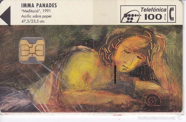 P-052 TARJETA DE COLECCION ARTE Nº1 DE TIRADA 3600 NUEVA CON BLISTER (Coleccionismo - Tarjetas Telefónicas)