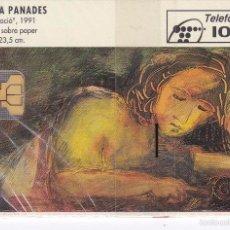Tarjetas telefónicas de colección: P-052 TARJETA DE COLECCION ARTE Nº1 DE TIRADA 3600 NUEVA CON BLISTER. Lote 56278698