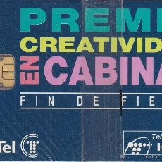 Tarjetas telefónicas de colección: P-054 TARJETA DE ESPAÑA DE LA KABUTZIA DE TIRADA 2500 NUEVA CON BLISTER. Lote 56278738
