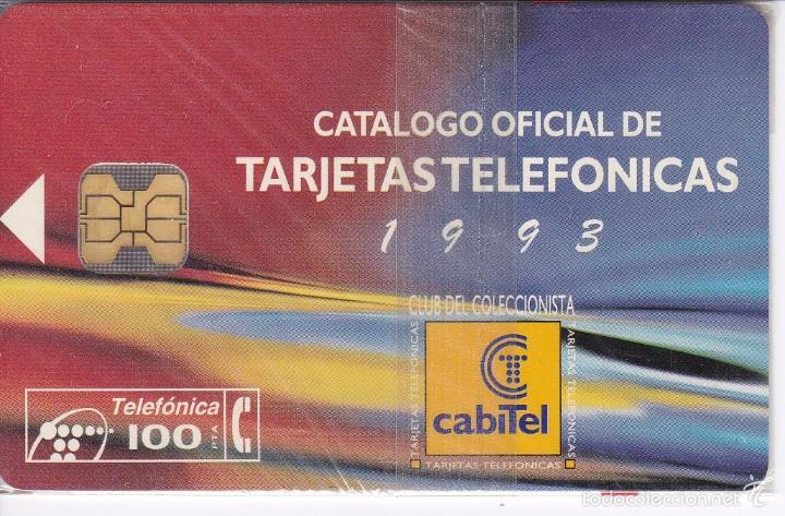 P-057 TARJETA DE ESPAÑA DE CLUB CABITEL´93 DE TIRADA 3000 NUEVA CON BLISTER (Coleccionismo - Tarjetas Telefónicas)