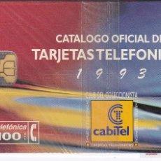 Tarjetas telefónicas de colección: P-057 TARJETA DE ESPAÑA DE CLUB CABITEL´93 DE TIRADA 3000 NUEVA CON BLISTER. Lote 56278792