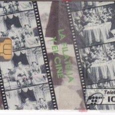 Tarjetas telefónicas de colección: P-058 TARJETA DE ESPAÑA DE ANFIL CINE DE TIRADA 4100 NUEVA CON BLISTER. Lote 56278804