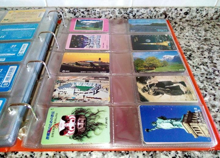 Tarjetas telefónicas de colección: Álbum con 500 Teletarjetas telefónicas de Brasil.Tarjetas usadas.Ver fotos - Foto 2 - 58514775