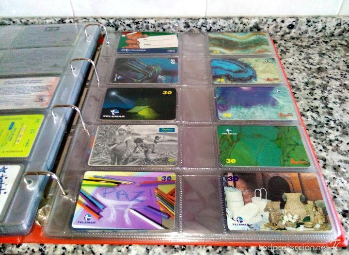 Tarjetas telefónicas de colección: Álbum con 500 Teletarjetas telefónicas de Brasil.Tarjetas usadas.Ver fotos - Foto 3 - 58514775