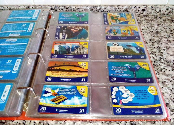 Tarjetas telefónicas de colección: Álbum con 500 Teletarjetas telefónicas de Brasil.Tarjetas usadas.Ver fotos - Foto 4 - 58514775