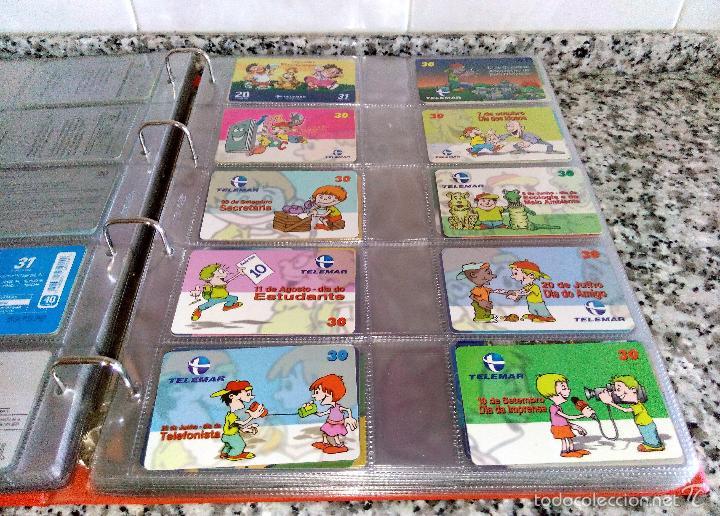 Tarjetas telefónicas de colección: Álbum con 500 Teletarjetas telefónicas de Brasil.Tarjetas usadas.Ver fotos - Foto 5 - 58514775
