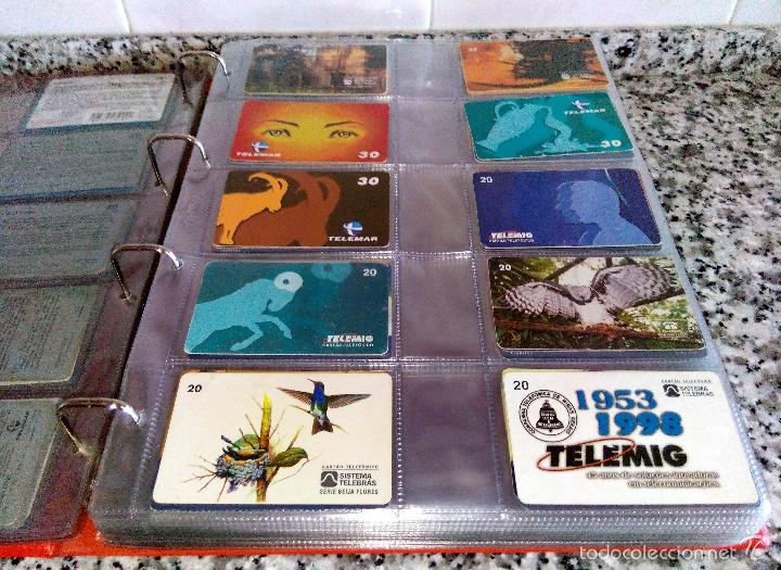 Tarjetas telefónicas de colección: Álbum con 500 Teletarjetas telefónicas de Brasil.Tarjetas usadas.Ver fotos - Foto 9 - 58514775