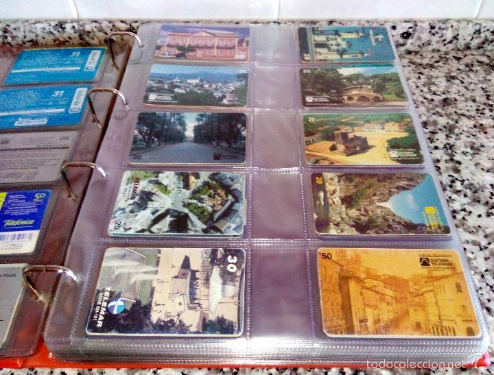 Tarjetas telefónicas de colección: Álbum con 500 Teletarjetas telefónicas de Brasil.Tarjetas usadas.Ver fotos - Foto 10 - 58514775
