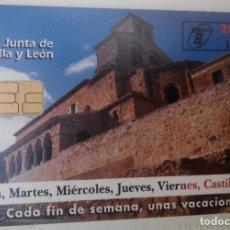 Tarjetas telefónicas de colección: TARJETA TELEFÓNICA. JUNTA DE CASTILLA Y LEÓN. Lote 61786044