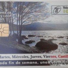 Tarjetas telefónicas de colección: TARJETA TELEFÓNICA. JUNTA DE CASTILLA Y LEÓN. Lote 61786248