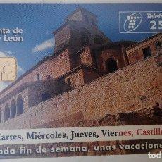 Tarjetas telefónicas de colección: TARJETA TELEFÓNICA. JUNTA DE CASTILLA Y LEÓN. Lote 61786452