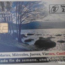 Tarjetas telefónicas de colección: TARJETA TELEFÓNICA. JUNTA DE CASTILLA Y LEÓN. Lote 61786564