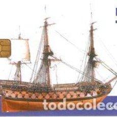 Tarjetas telefónicas de colección: ESPAÑA TT TARJETA TELEFONICA BARCOS SAN GENARO. Lote 183309595