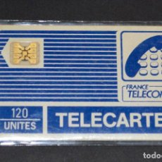 Tarjetas telefónicas de colección: TARJETA TELEFÓNICA FRANCIA. 120 UNITES. FRANCE TELECOM. TELECARTE. Lote 62963912