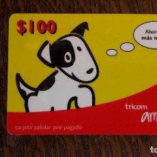 Tarjetas telefónicas de colección: TARJETA ANTIGUA DE TELEFONOS TARJETAS USADAS TELEFONICA. Lote 66207762