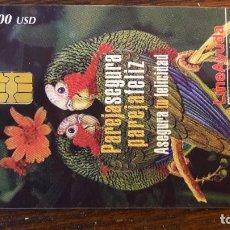 Tarjetas telefónicas de colección: TARJETA ANTIGUA DE TELEFONOS TARJETAS USADAS TELEFONICA. Lote 66305654