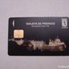 Tarjetas telefónicas de colección: TARJETA PREPAGO APARCAMIENTO MADRID. Lote 69532553