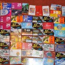 Tarjetas telefónicas de colección: LOTE DE 50 TARJETAS TELEFÓNICAS DE UCRANIA. Lote 70393233