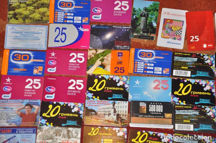 Tarjetas telefónicas de colección: Lote de 50 tarjetas telefónicas de Ucrania - Foto 2 - 70393233