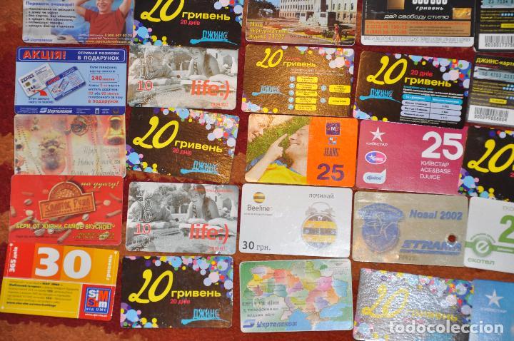 Tarjetas telefónicas de colección: Lote de 50 tarjetas telefónicas de Ucrania - Foto 3 - 70393233