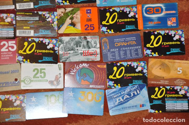 Tarjetas telefónicas de colección: Lote de 50 tarjetas telefónicas de Ucrania - Foto 4 - 70393233
