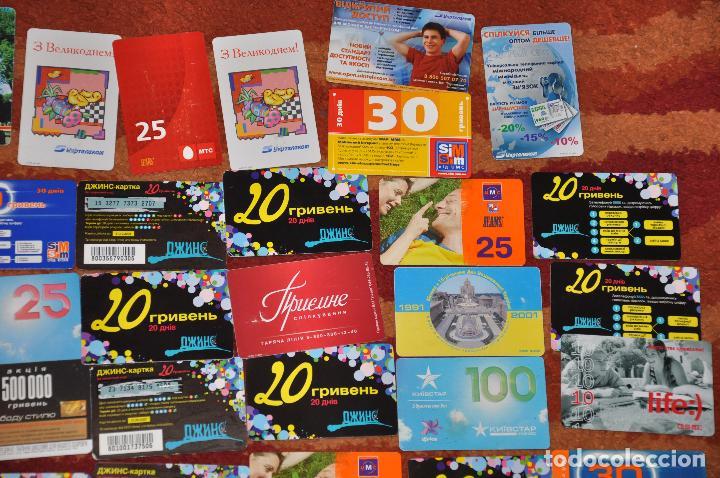 Tarjetas telefónicas de colección: Lote de 50 tarjetas telefónicas de Ucrania - Foto 5 - 70393233