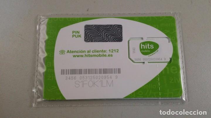 Tarjetas telefónicas de colección: Tarjeta sim Hits mobile. Sin abrir. - Foto 2 - 137240734