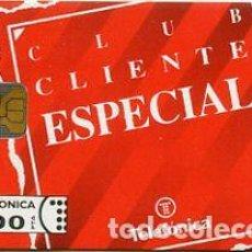 Cartes Téléphoniques de collection: TARJETA TELEFONICA PHONECARD ESPAÑA - P 8 - CLUB CLIENTE ESPECIAL - 500 PTAS - 11/92. Lote 77143745