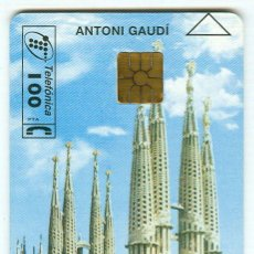 Cartes Téléphoniques de collection: TARJETA TELEFONICA PHONECARD ESPAÑA - P 224 - SAGRADA FAMILIA - 100 PTAS - 11/96. Lote 77184721