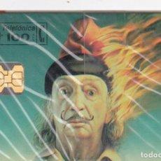 Tarjetas telefónicas de colección: P-049 SALVADOR DALI PRECINTADA ESPAÑA. Lote 80237333